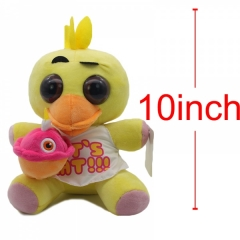 Five Nights at Freddy's Chica Anime Stuff Plush Toy 10Inch