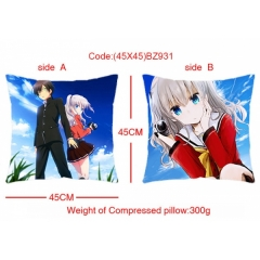 Charlotte Anime Pillow 45*45CM