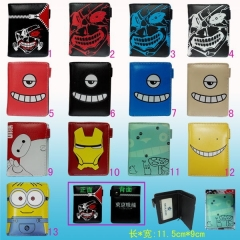13 Styles Anime Wallet