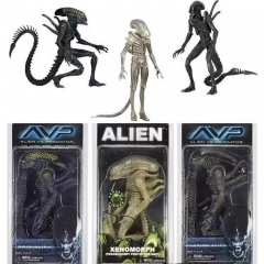 Alien vs Predator Anime Figure 8Inch (3pcs/Set)