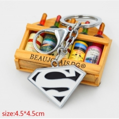Man of Steel Anime Keychain