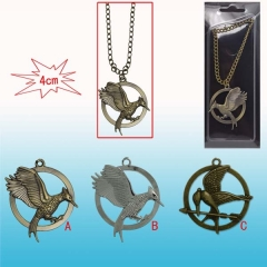 The Hunger Games Anime Necklace