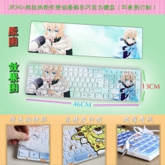 Seraph of the end Anime Colorful Keyboard