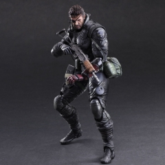 Metal Gear Solid Big Boss Model Anime Figure 33CM