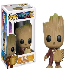 Funko POP Guardians of the Galaxy 208# Groot PVC Anime Figure