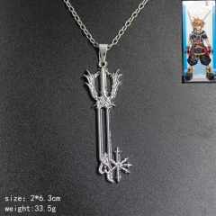 Good Quality Anime Alloy Kingdom Hearts Cosplay Necklace