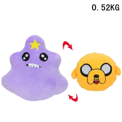 Adventure Time with Finn and Jake Lumpy Space Toy Anime Pillow