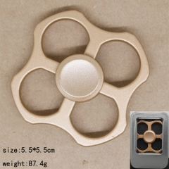 Square Gold Anime Hand Fidget Spinner