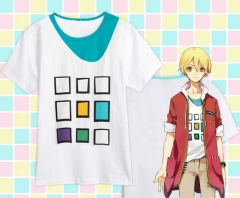 Tsukiuta Cosplay Pure Cotton Anime T shirts(2Sets)