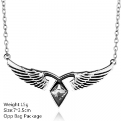 The Mortal Instruments: City of Bones Angle Alloy Anime Necklace Set