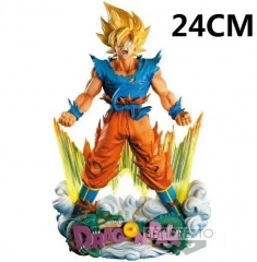 Dragon Ball Z Son Goku Cartoon Toys Japanese Anime Figure 24CM