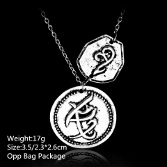 The Mortal Instruments: City of Bones Alloy Anime Necklace Set