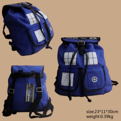 Doctor Who Anime Popular Pattern Students Backpack Sports Bag