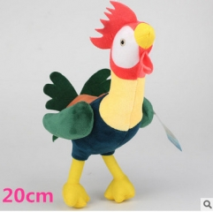 Moana Hei Hei the Rooster Smart 20CM Anime Doll Plush Toy
