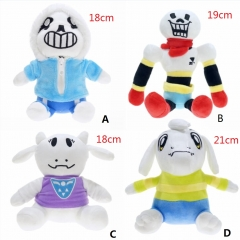 Undertale Different Pattern Cartoon Toys Stuffed Anime Plush Toy For Choose