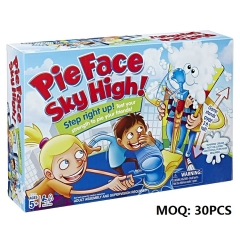 Newest Popual Toys Pie Face Sky High Board Game