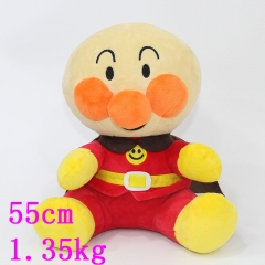 Japanese Cartoon Anpanman Cute Doll Anime Plush Soft Toy 55cm