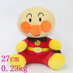 Japanese Anpanman Doll Plush Cute Boy Plush Toy 27cm