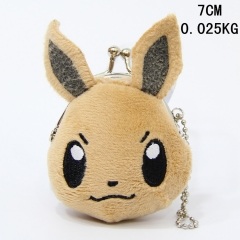 Pokemon Mini Cute Cartoon Coin Wallet Anime Plush Purse