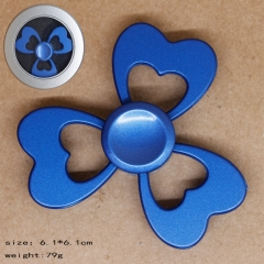 Heart Shape Blue Anime Hand Fidget Spinner