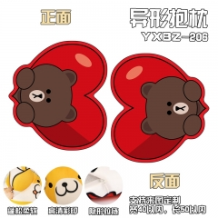 Line Bear Brown Cosplay Deformable Cartoon Anime Plush Pillow