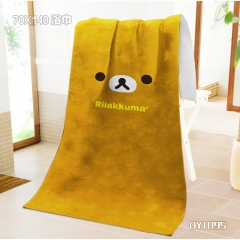 Rilakkuma Anime Bath Towel
