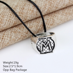 The Mortal Instruments: City of Bones M Alloy Anime Necklace Set