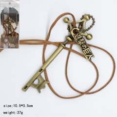 Attack on Titan Keychain Shape Pendant Anime Necklace