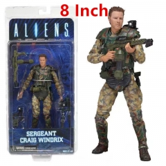 Neca Alien vs Predator Sergeant Craig Windrix Action Figure