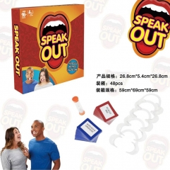 Speack Out Game Children Board Game