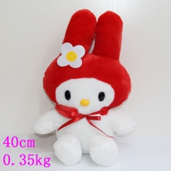 My Melody Anime Cute Red Rabitt Kid's Plush Soft Toy