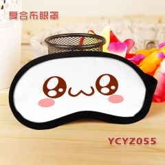 Kaomoji Composite Cloth Anime Eyepatch