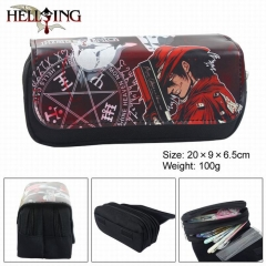 Hellsing Multifunctional Cartoon Zipper Anime Pencil Bag