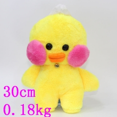 Korea Style Hot Doll Duck Cafe Mimi Lovely Anime Plush Toy 30cm