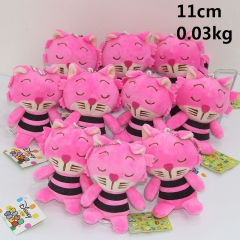 Cartoon Designs Alice in Wonderland Cheshire Cat Cute Plush Pendant 10pcs/set