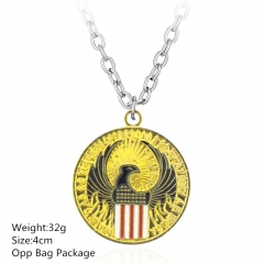Fantastic Beasts and Where to Find Them Gold Alloy Anime Necklace Set