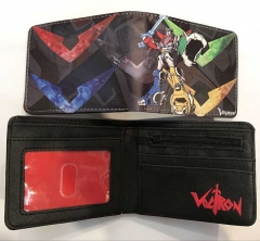 Voltron: Defender of the Universe Cartoon PU Leather Wallet