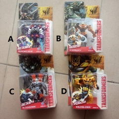 Transformers Cartoon Funny Toys 4 Designs Can Choose Action Anime Figure