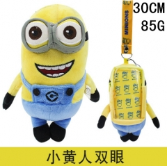 Despicable Me Cosplay Movie Toy Phone Pendant Anime Phone Bag