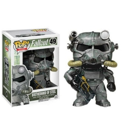 Funko POP Fallout 4 Brotherhood of Steel Cartoon Toys Anime PVC Figure #49