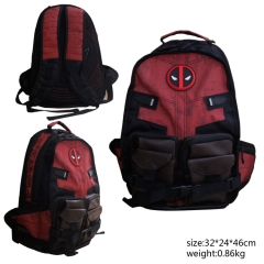 America Movie Deadpool Anime Mountaineering Bag Sports Backpack