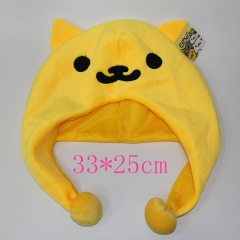 Neko Atsume Anime Plush Hat