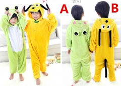 Children Frog and Goofy Animal Pyjamas