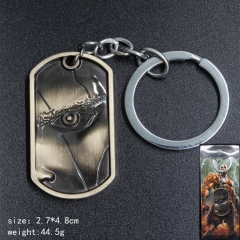 Game God Of War Anime Alloy Bronze Keychain
