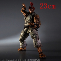 Play Arts Street Fighter Gouki Anime Figures