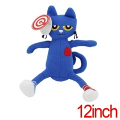 Pete the Cat Plush Dolls Anime Plush Toy 12Inch