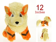 Pokemon Sun and Moon Game Arcanine 12 Inch Anime Doll Plush Toy