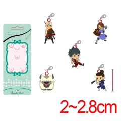 Avatar: The Last Airbender Alloy Metal Pendant Anime Lobster Clasp 5pcs/set