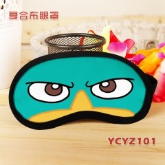 Perry the Platypus Composite Cloth Anime Eyepatch