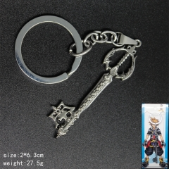 Kingdom Hearts Anime Alloy Popular Designs Keychain
